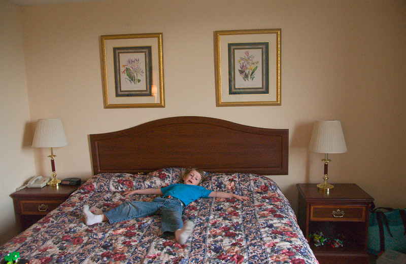 You can sprawl on a bed - Pigeon Forge, Tenn.